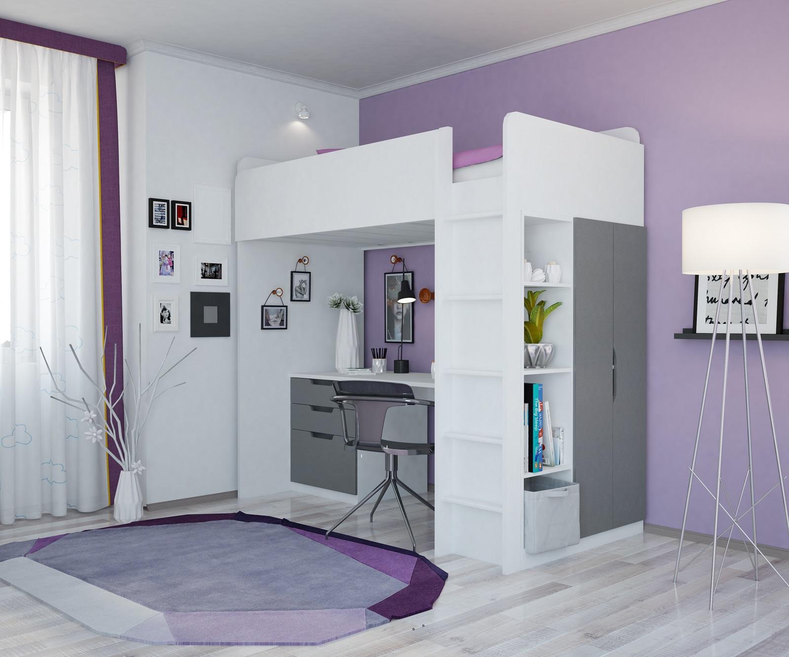Hochbett Mit Kleiderschrank Und Schreibtisch 2021